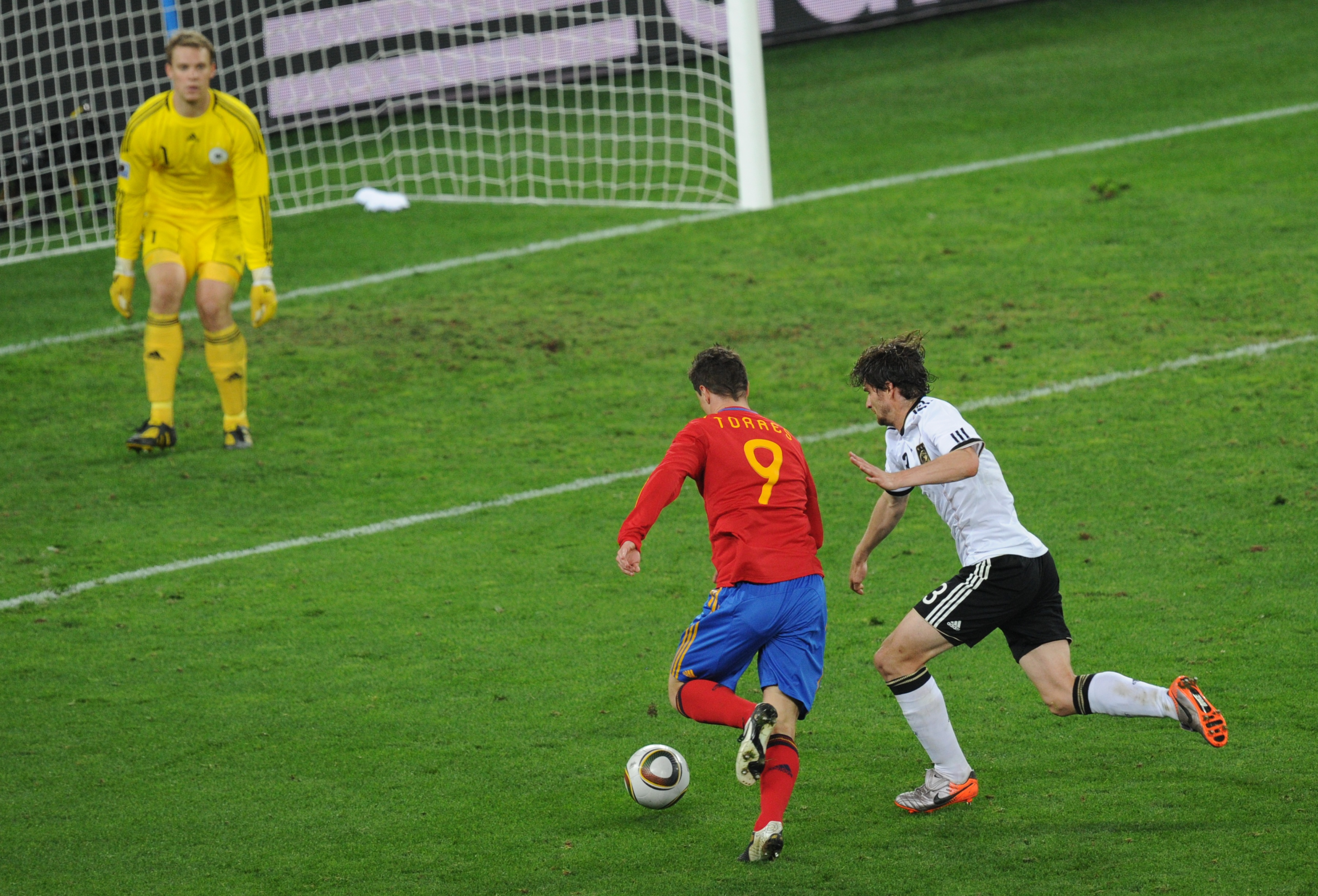 España y Alemania podrían volver a verse en las últimas rondas