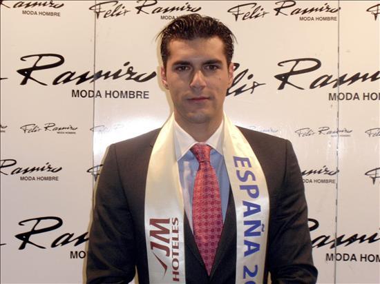 Mister España, un chico con «los pies en la tierra»