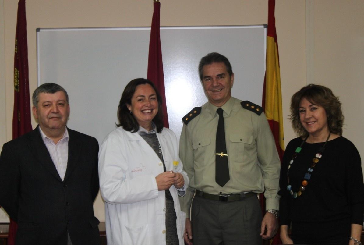 El Hospital del Rosell de Cartagena acoge en sus instalaciones a la Clínica Militar del Hospital Naval