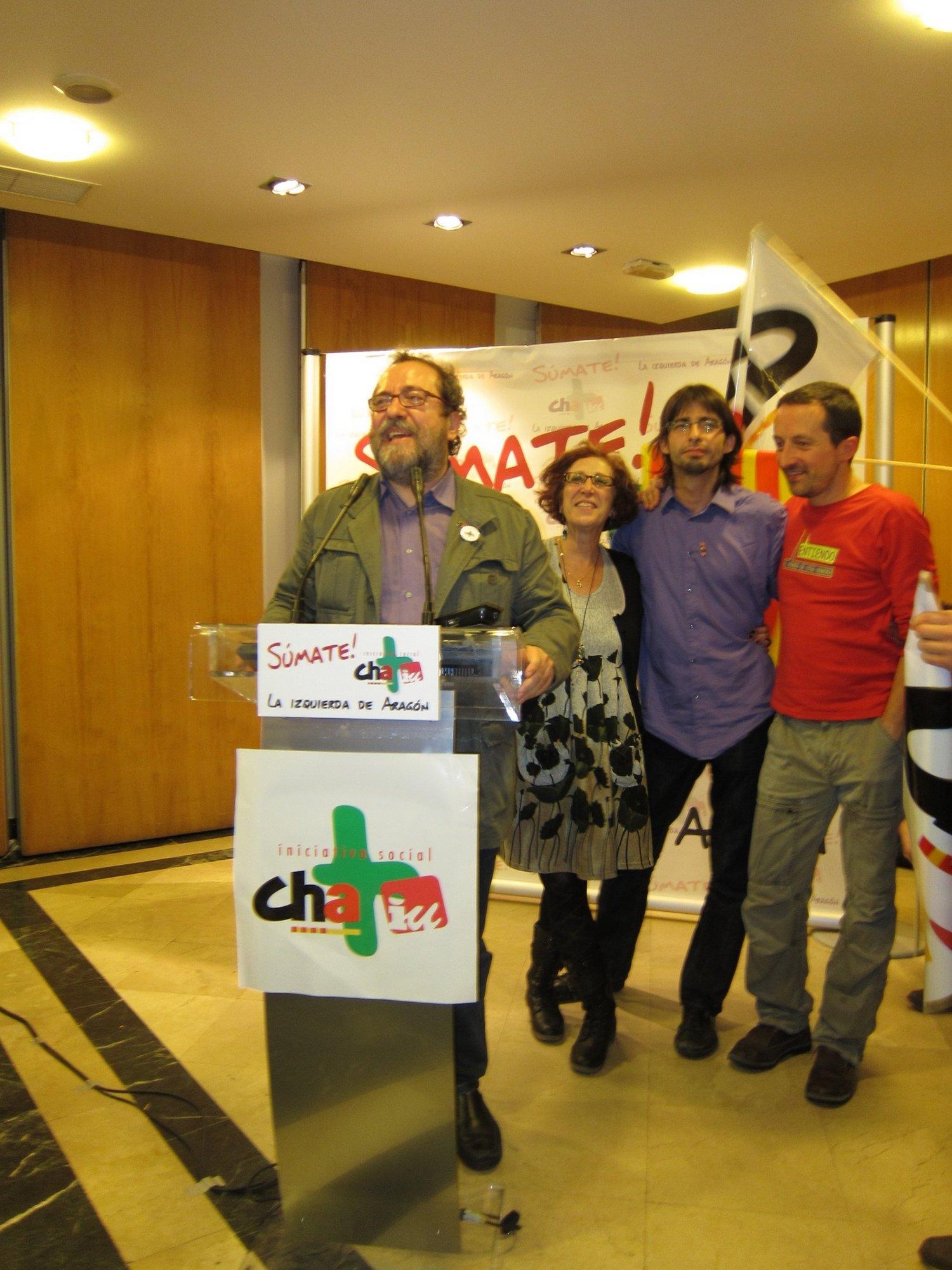 La Iniciativa Social trabaja en un protocolo para mantener la coalición de La izquierda de Aragón