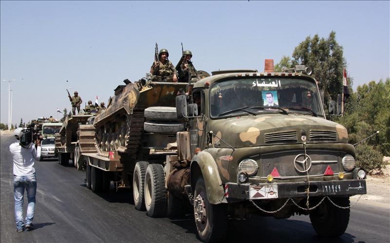 37 muertos por las fuerzas sirias en distintas partes del país