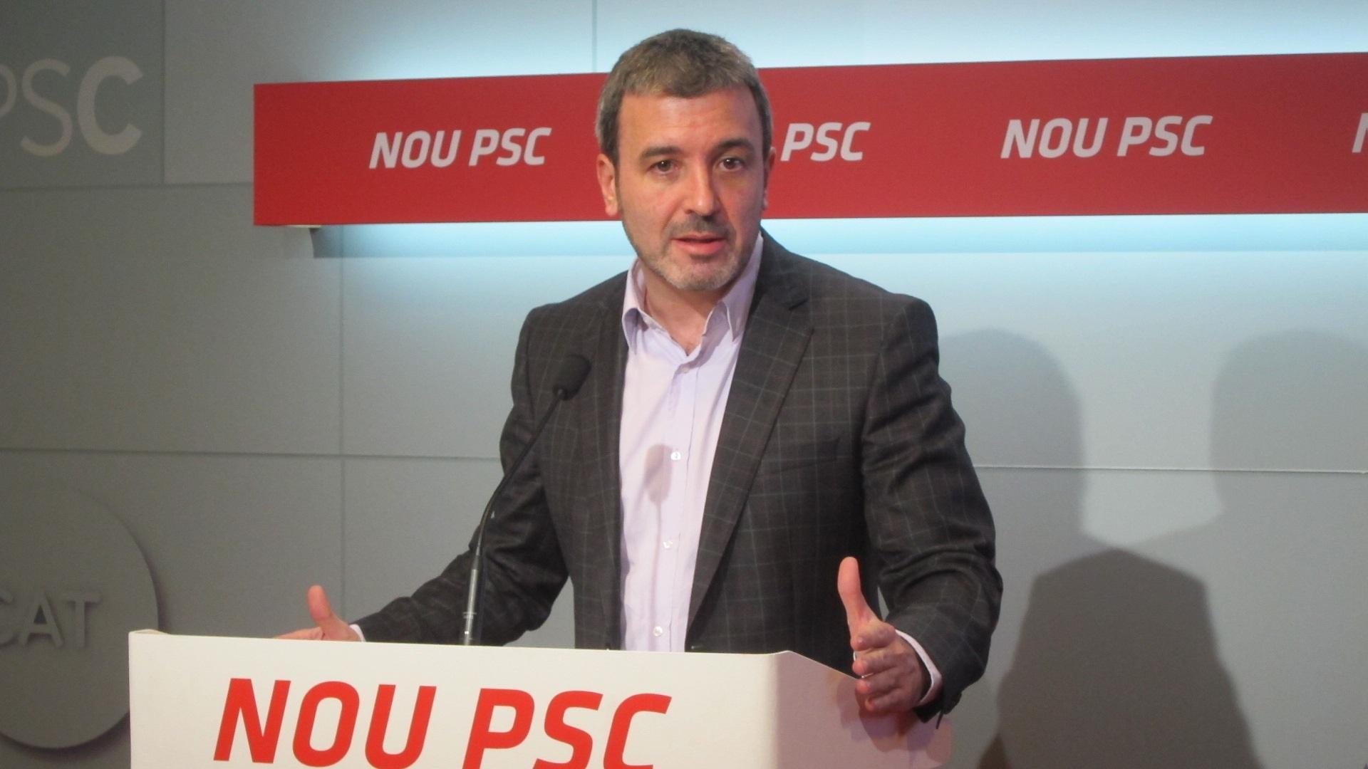 El PSC asegura que Camacho ocupa el papel de interlocutor que anhela Duran