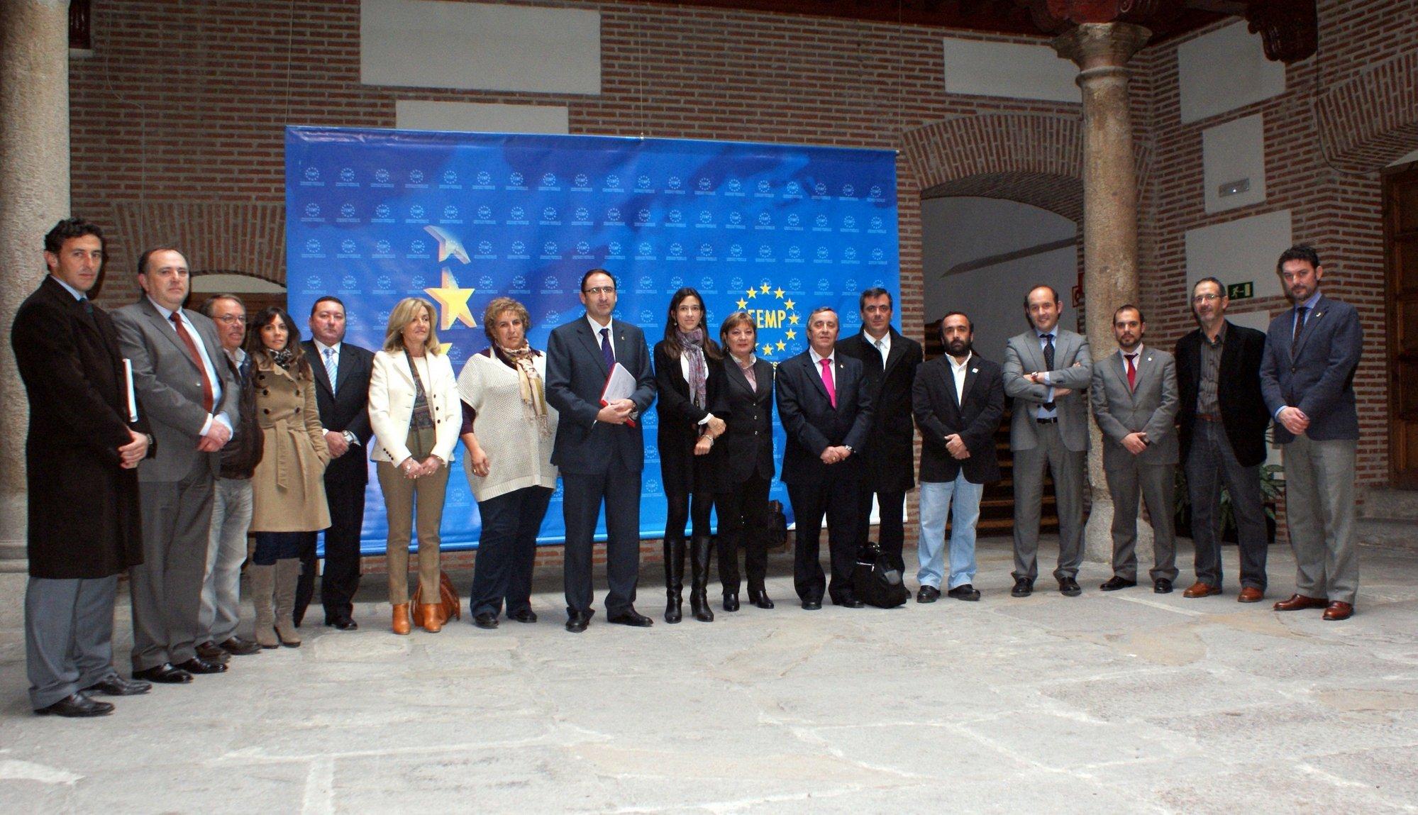 El alcalde de Palencia, presidente de la Comisión de Cooperación al Desarrollo de la FEMP