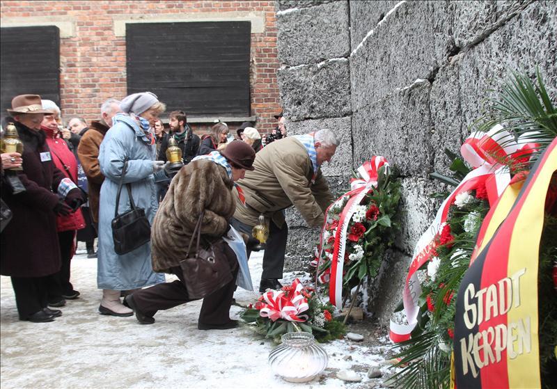 Polonia conmemoró el 67 aniversario de la liberación de Auschwitz