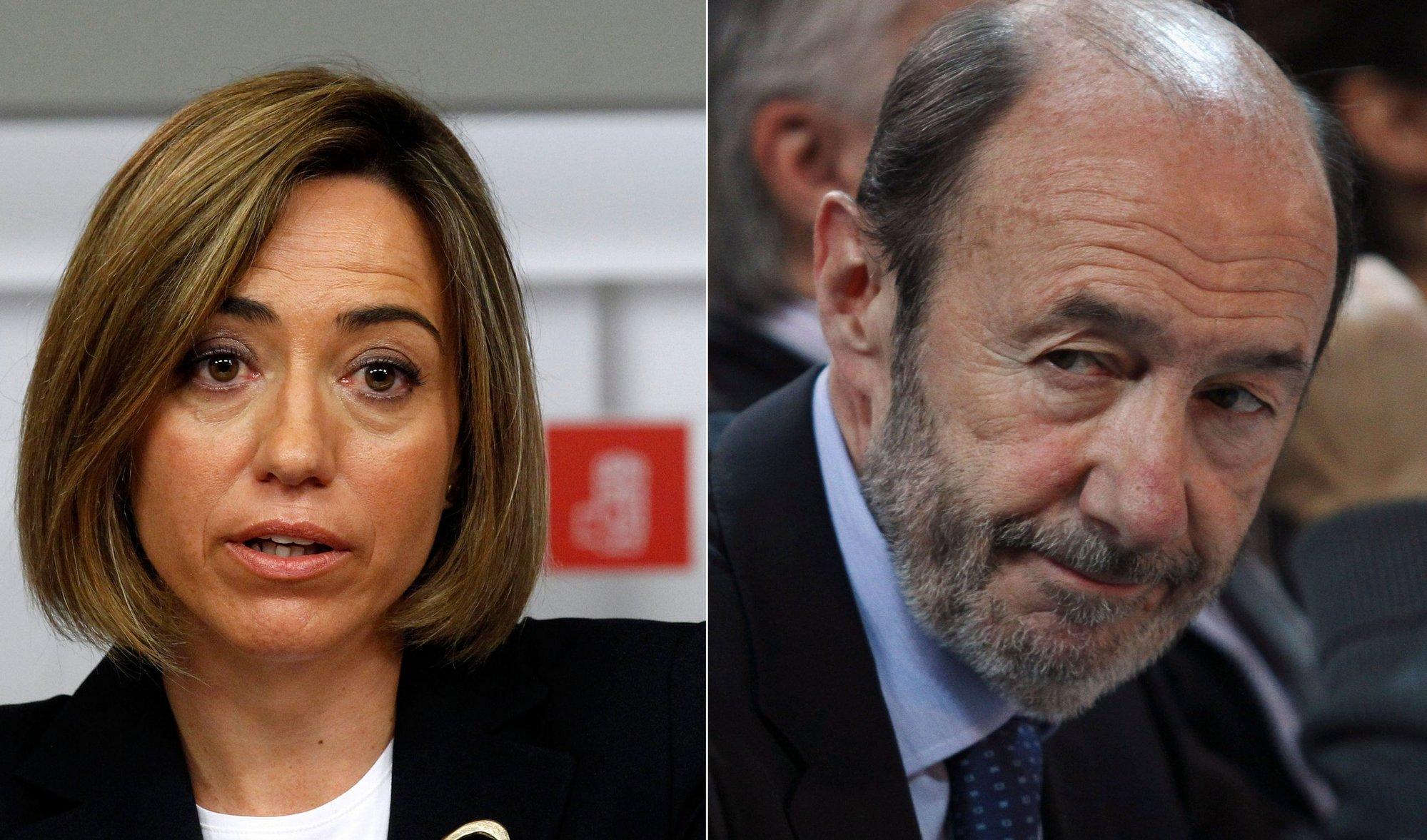 Rubalcaba y Chacón hacen doblete este sábado en Madrid y Barcelona