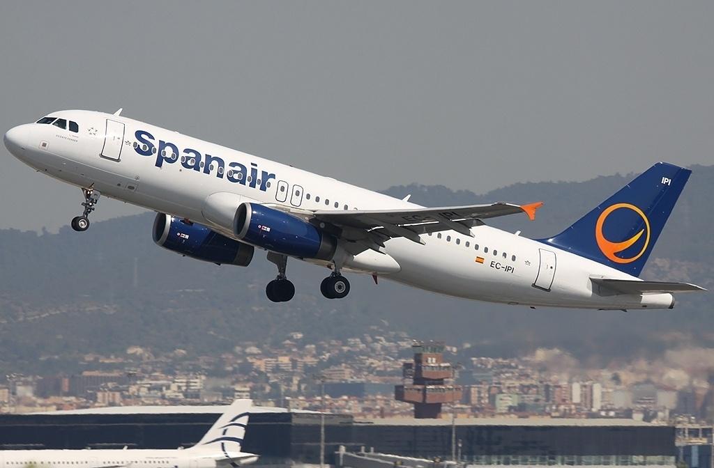 Spanair cancela todos sus vuelos a partir de las 2.00 horas de este sábado