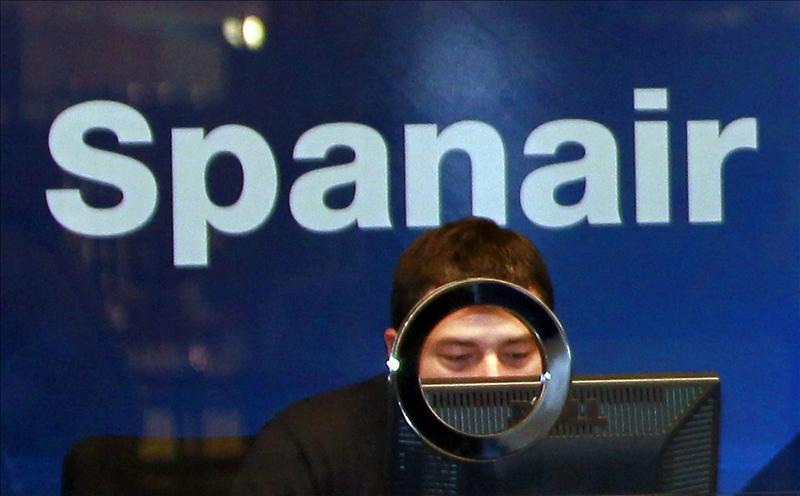 Las agencias de viajes ya no venden billetes de Spanair