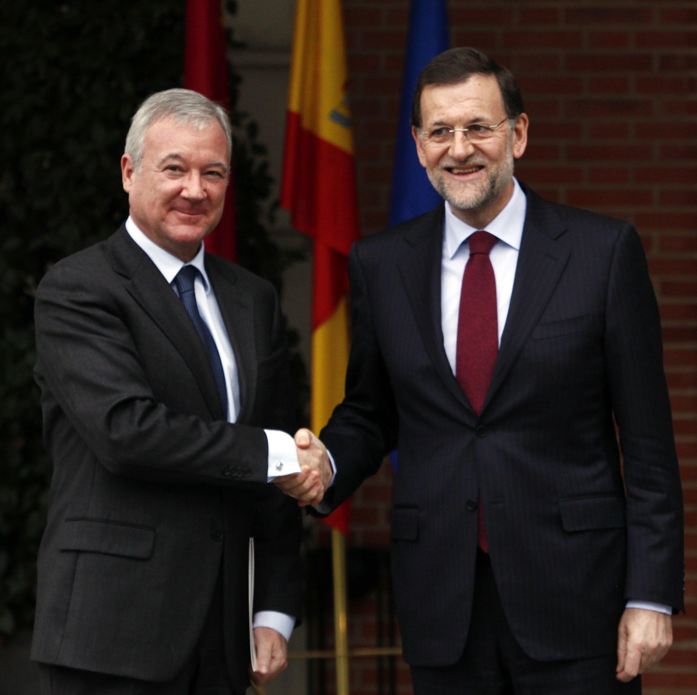 Valcárcel pide a Rajoy una nueva financiación para Murcia