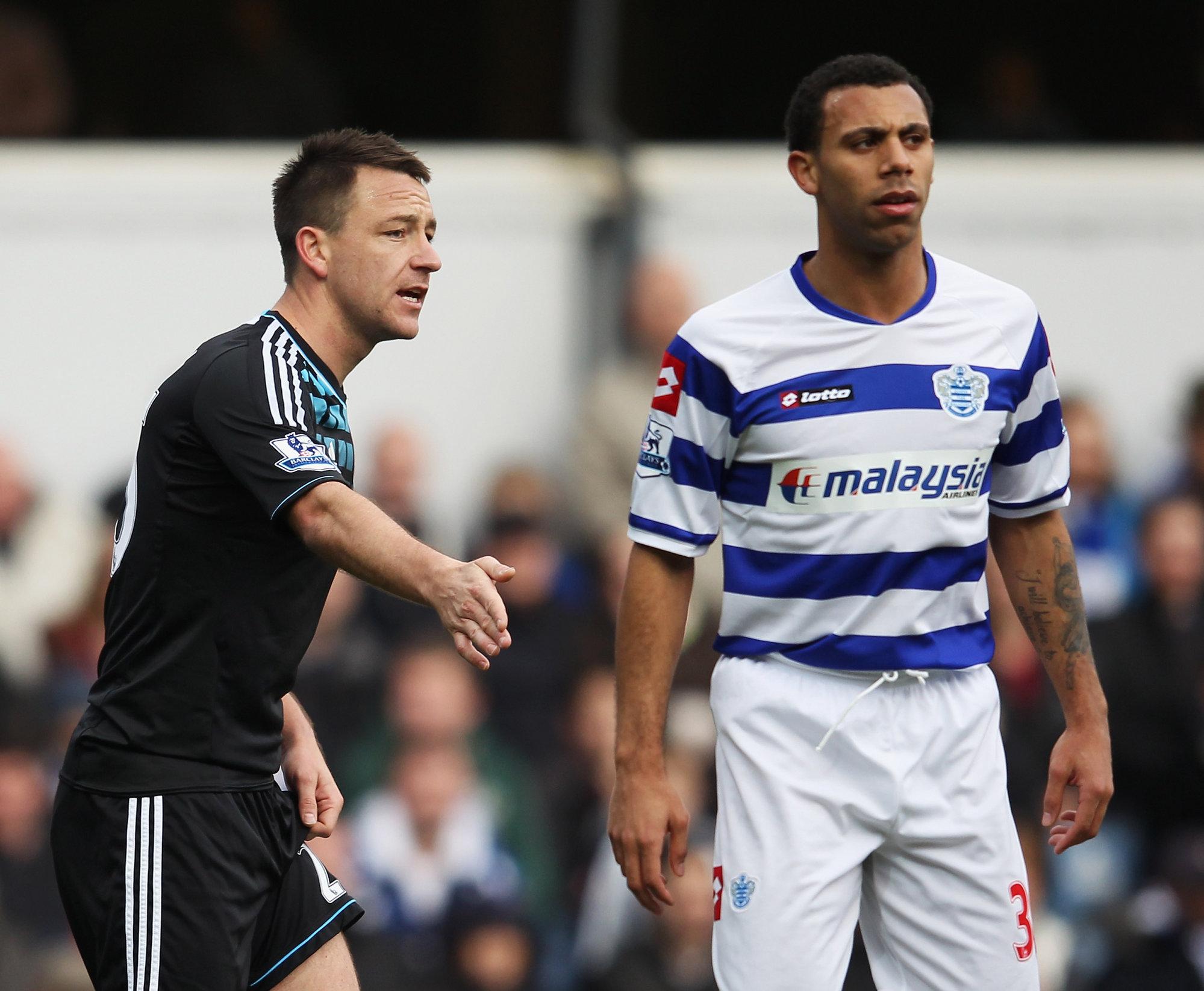QPR y Chelsea no se saludan por el incidente racista entre Terry y Ferdinand