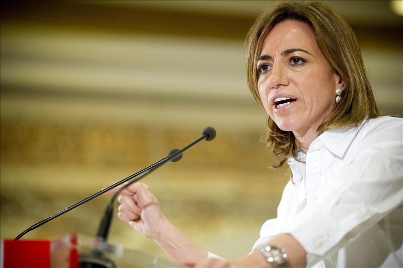 Fernández de la Vega asegura que el PSOE necesita un «nuevo tiempo» liderado por Chacón