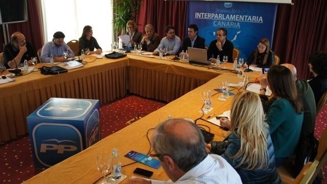 Diputados y senadores canarios del PP se reúnen para hacer una puesta en común sobre diferentes temas de actualidad