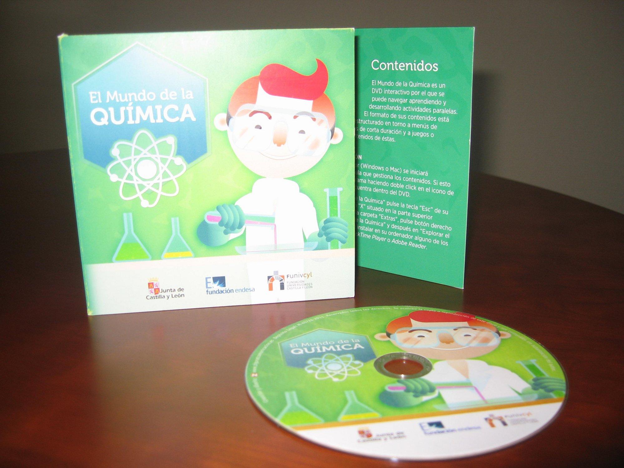Educación distribuye más de 1.100 DVD en colegios e institutos con motivo del Año Internacional de la Química