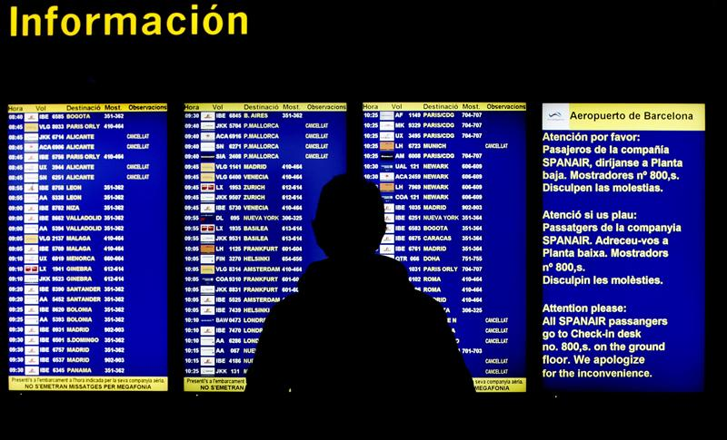 Lufthansa ofrece el reembolso o el canje de sus vuelos compartidos con Spanair