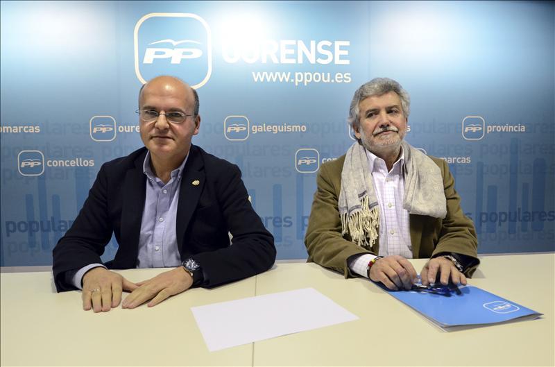 El PP ratifica la sucesión de Baltar padre a su hijo al frente de la Diputación
