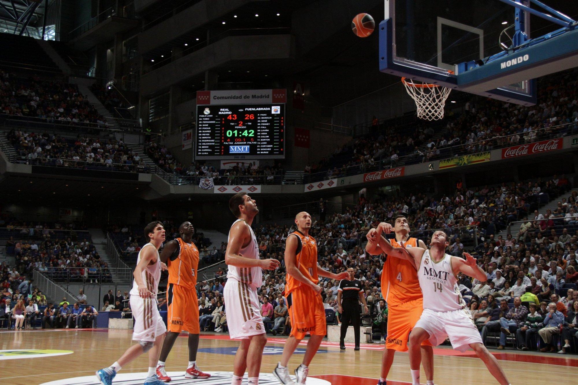 Previa del Baloncesto Fuenlabrada-Real Madrid
