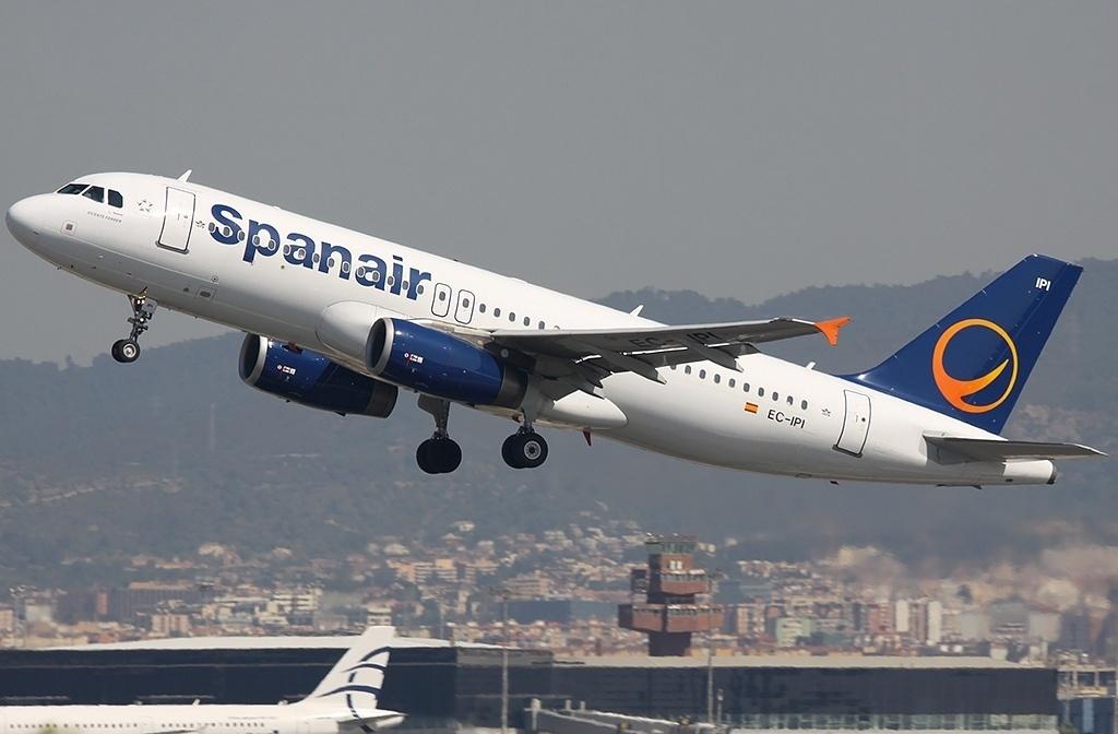 Un total de ocho vuelos cancelados tras el cese de Spanair entre Sevilla, Granada, Málaga y Barcelona