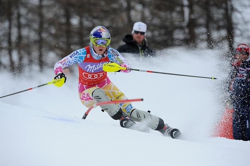 Vonn prolonga su buen momento en Saint Moritz