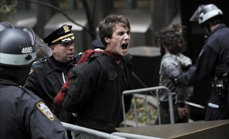 EEUU anuncia el desalojo del último campamento del movimiento indignado