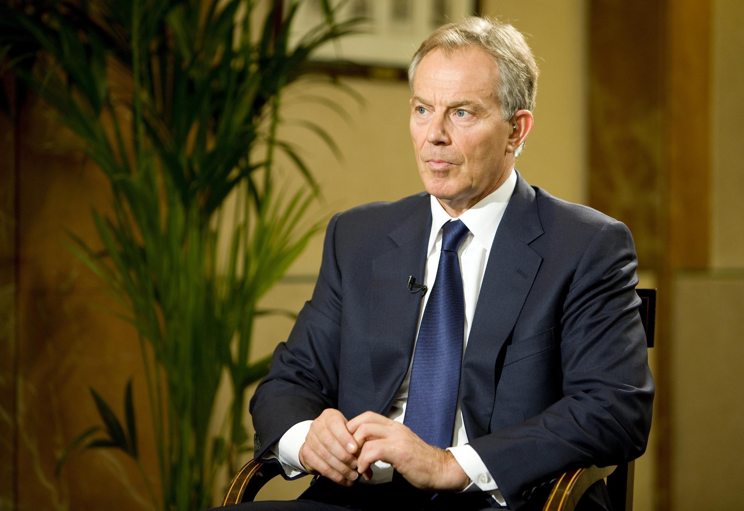 Blair y Zoellick visitan los territorios palestinos