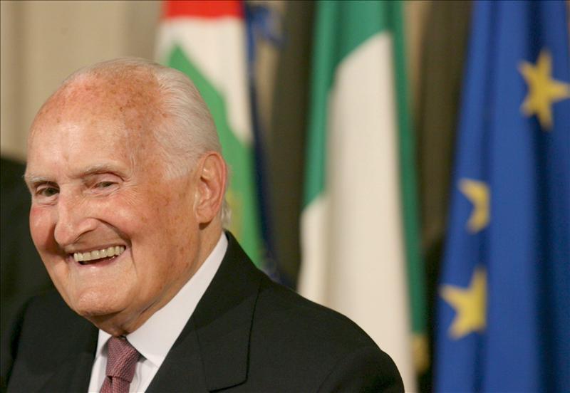 Muere Oscar Luigi Scalfaro, expresidente de la República italiana