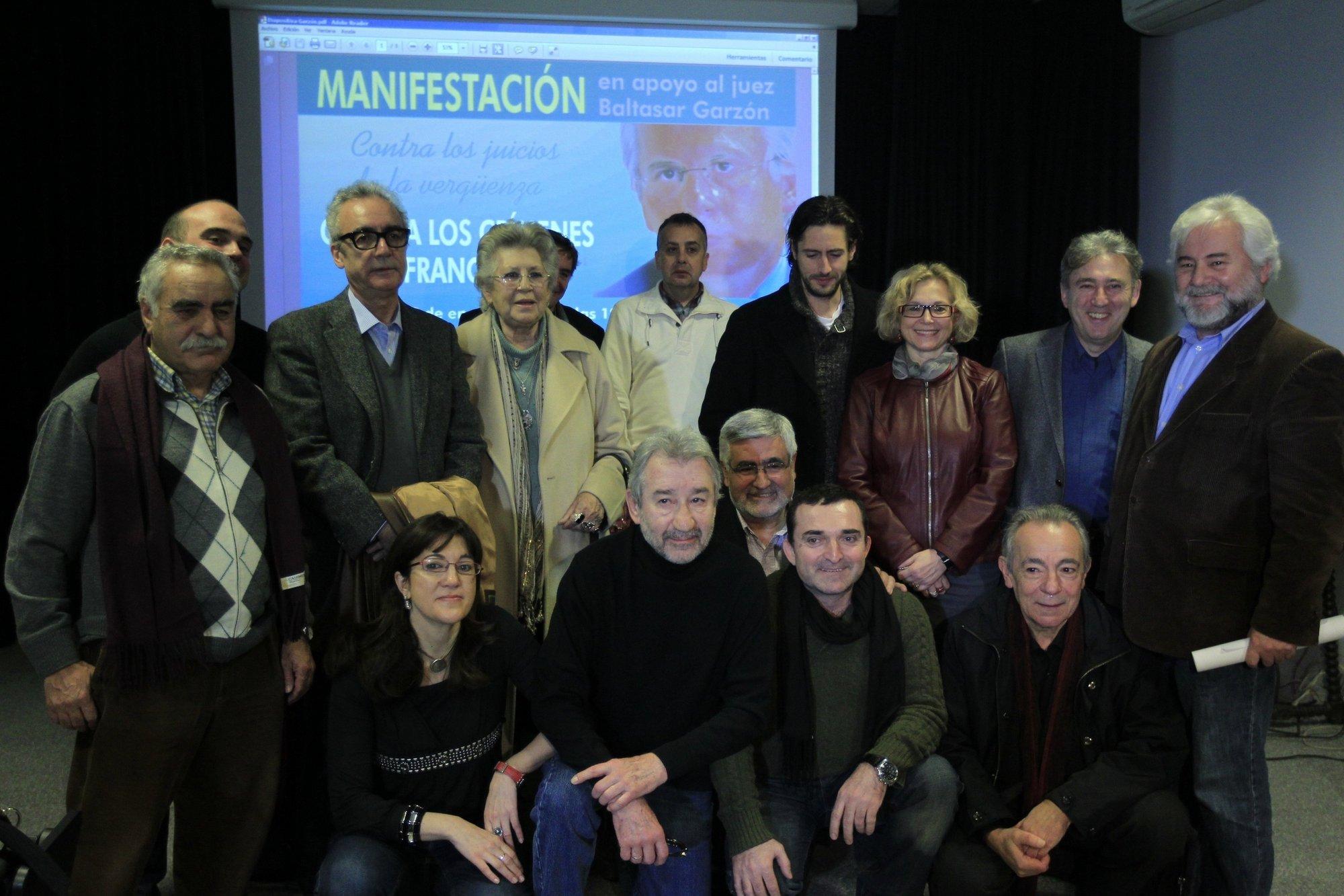 Una manifestación recorre hoy el centro de Madrid en solidaridad con el juez y las víctimas del franquismo