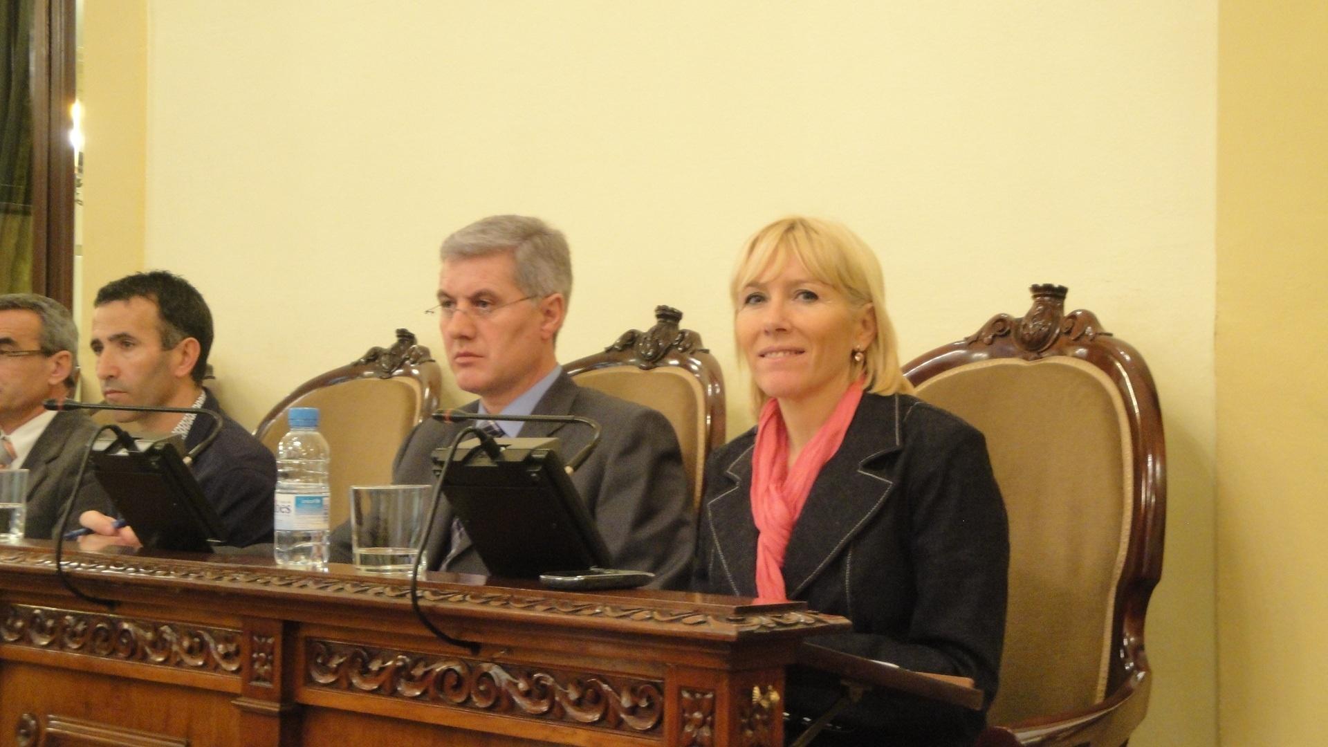 La subdelegada del Gobierno en Lleida quiere potenciar la unidad contra la violencia de género