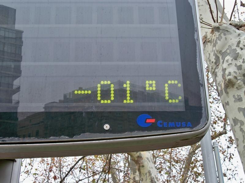 Alerta amarilla por temperaturas mínimas en algunos puntos de Aragón