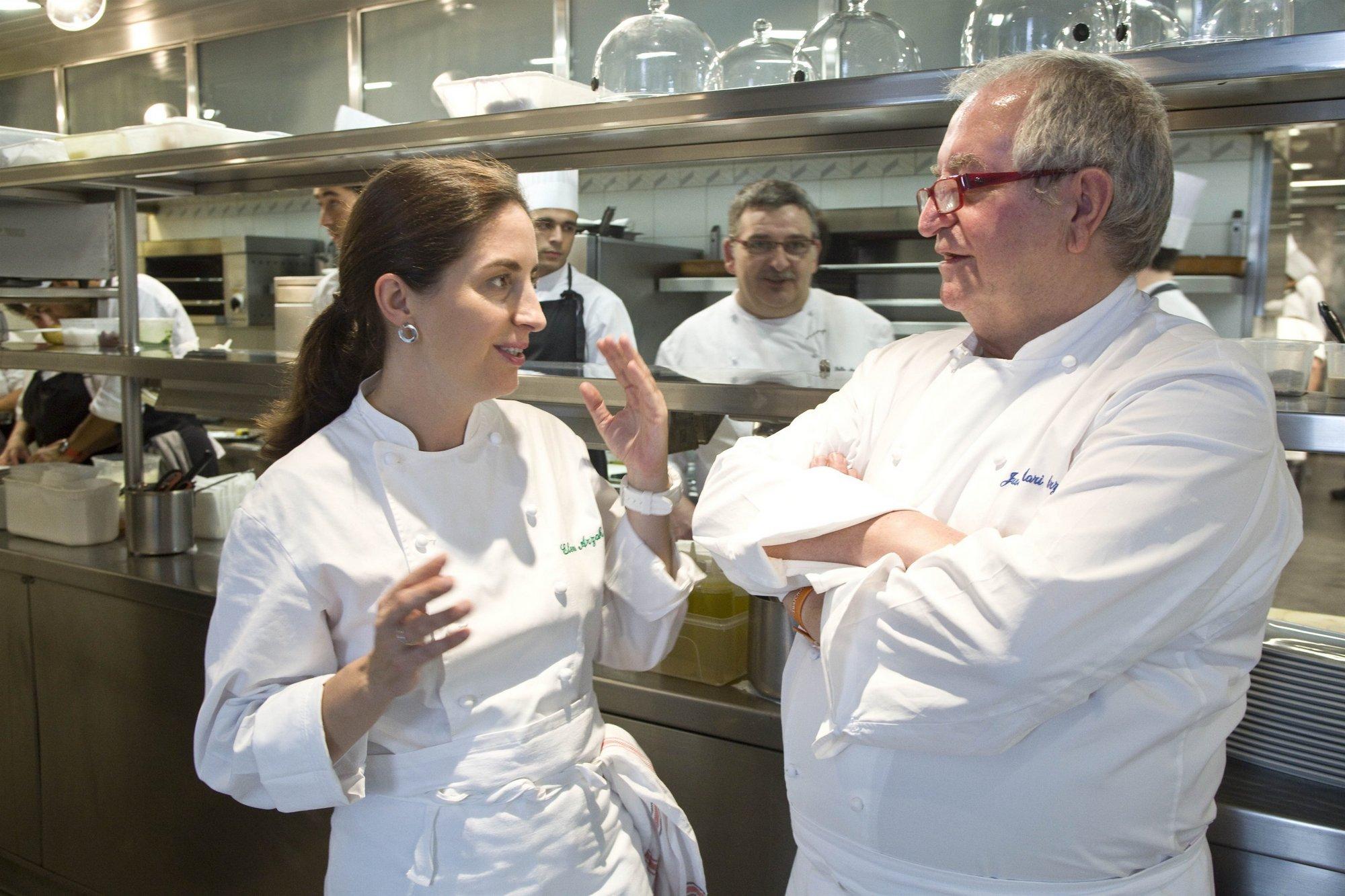 El cocinero español Arzak se encargará de alimentar al equipo HRT durante los Grandes Premios