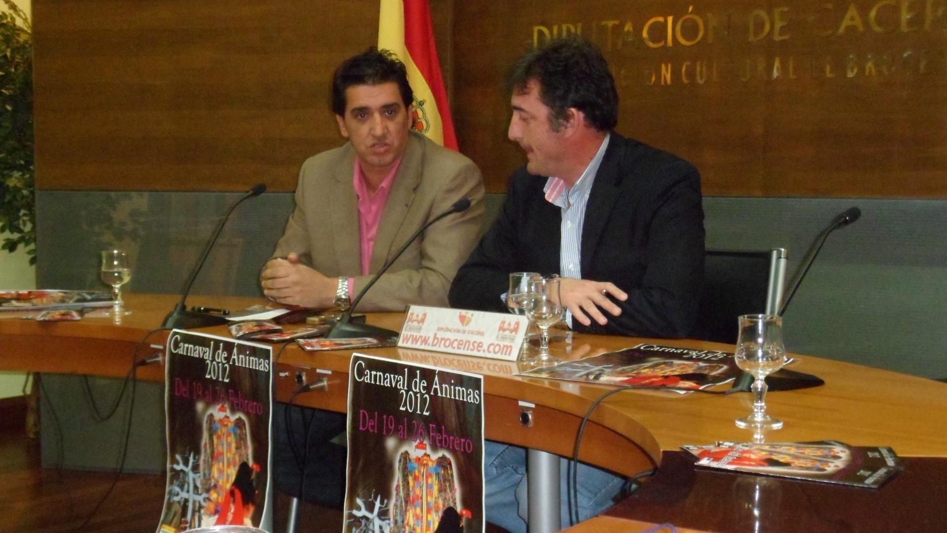 La Diputación apoyará al Carnaval de las Ánimas para que sea Fiesta de Interés Regional