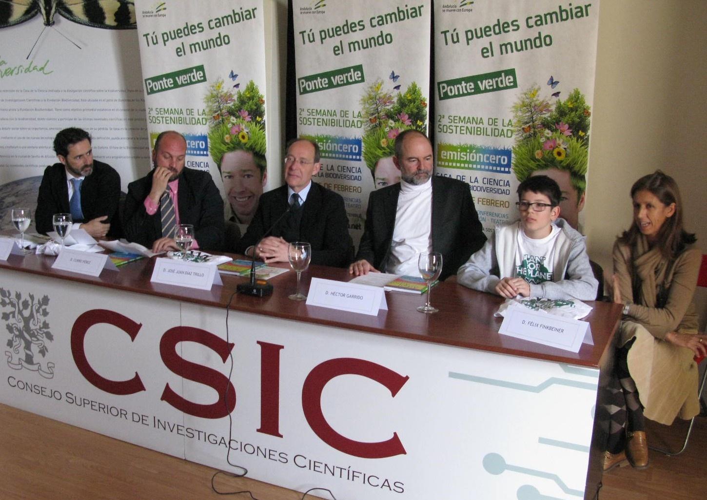 Expertos internacionales en el congreso »EmisiónCero» de Sevilla