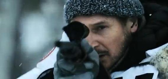 Liam Nesson es un depredador para los lobos en »Infierno Blanco»