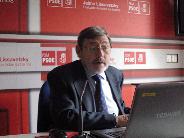 Lissavetzky no comenta sobre las retribuciones de José Ricardo Martínez ya que el sindicalista «explicará la situación»