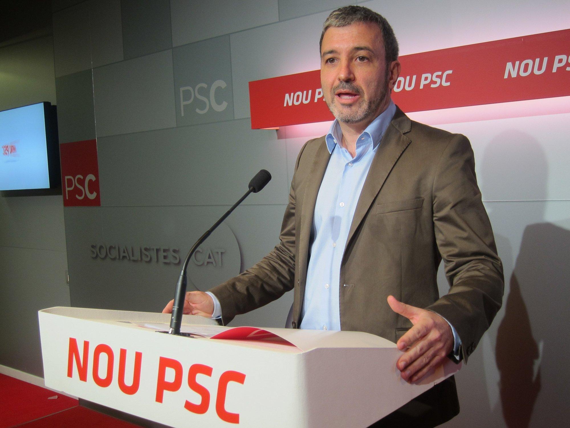 El PSC arremete contra el Govern por el recorte «unilateral» al sueldo de sus empleados