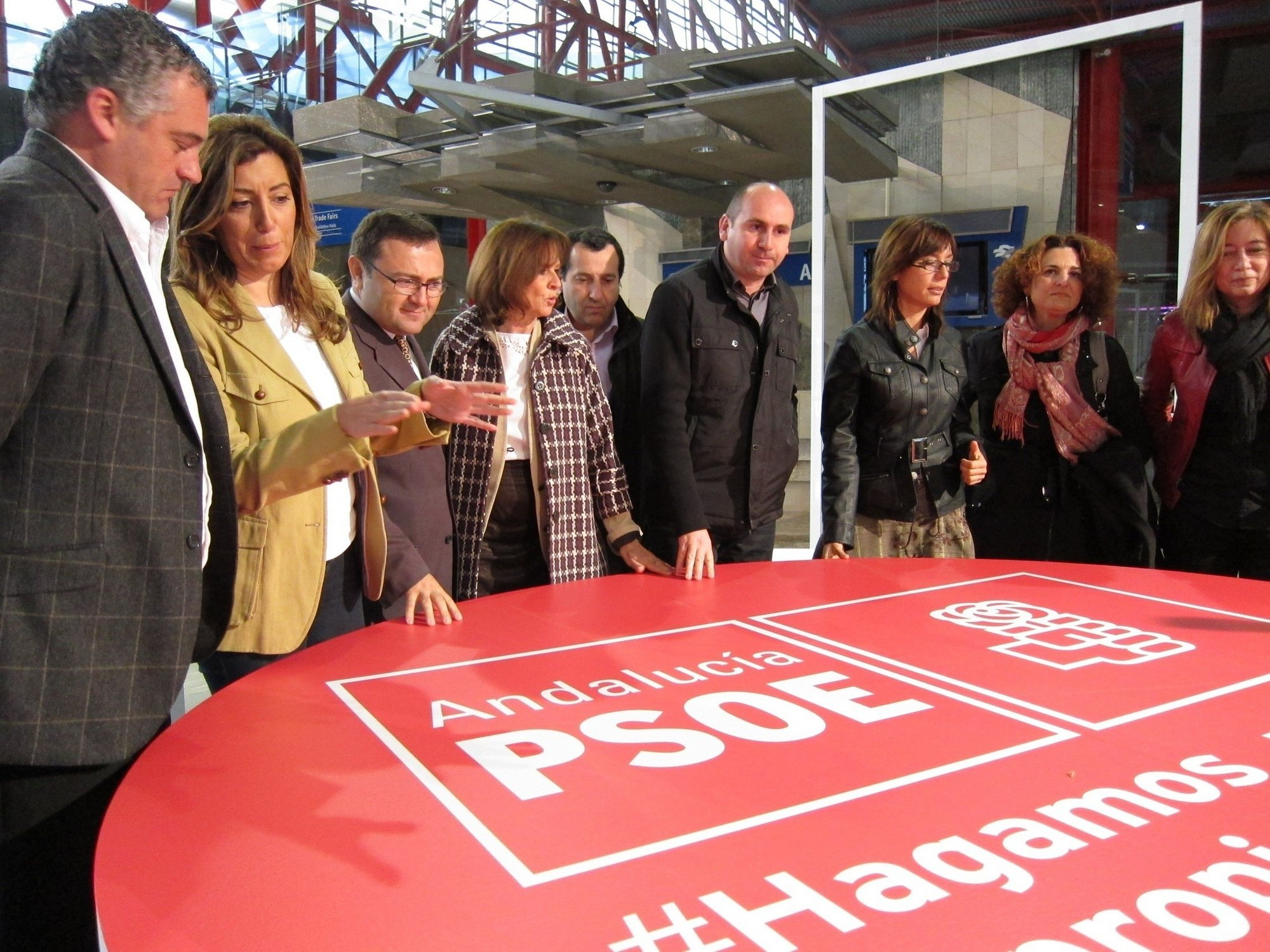 PSOE-A afirma que Arenas «no persigue la corrupción» y critica que «rehuya» el «escándalo» de la Zona Franca