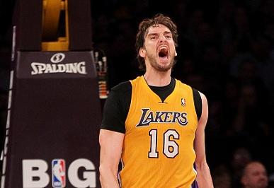 Gasol: «Los Lakers sólo están esperando la oferta adecuada para apretar el gatillo»
