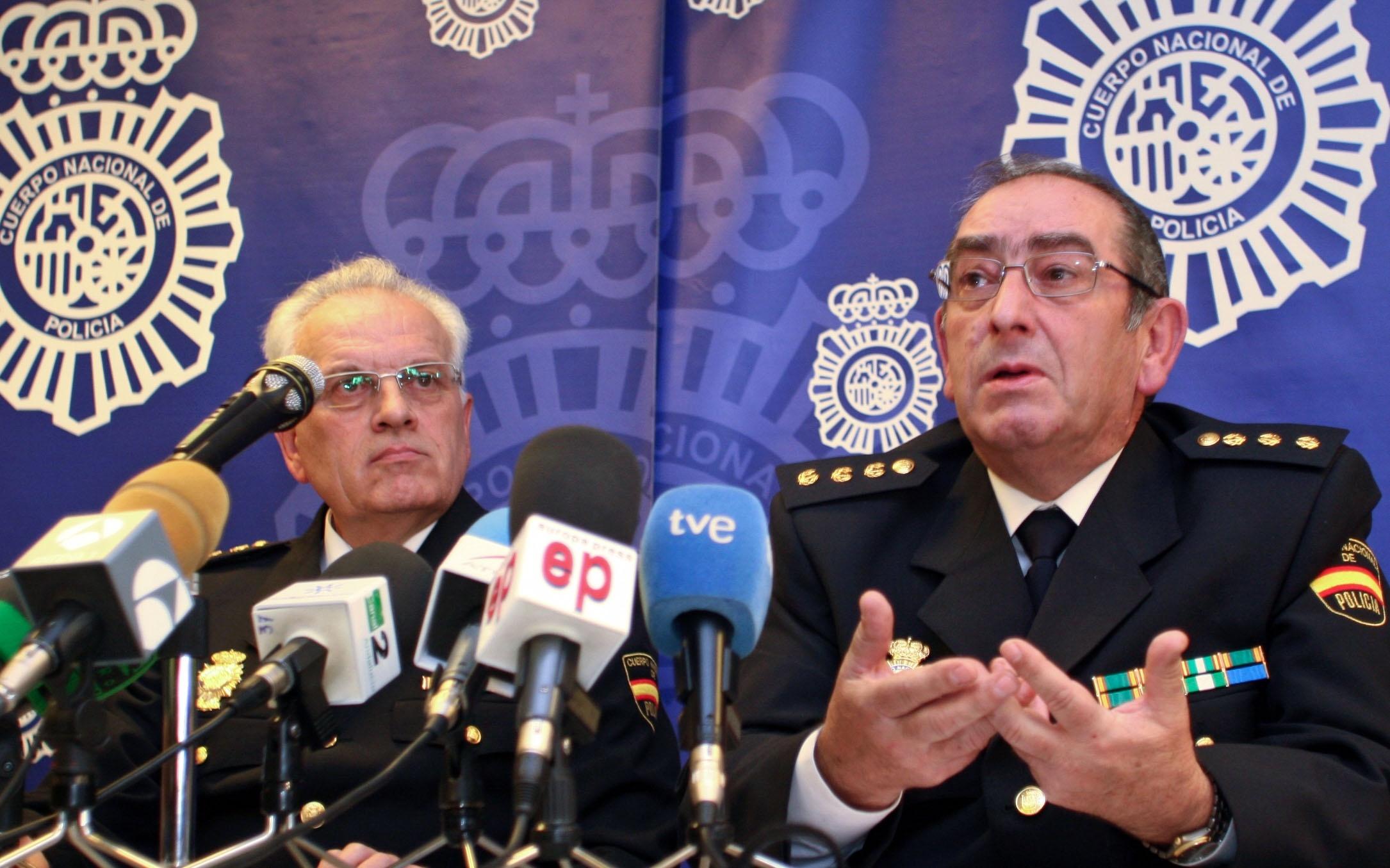 El SUP defiende al comisario Manuel Piedrabuena y pide a Del Castillo que no ataque su «fama y buen nombre»
