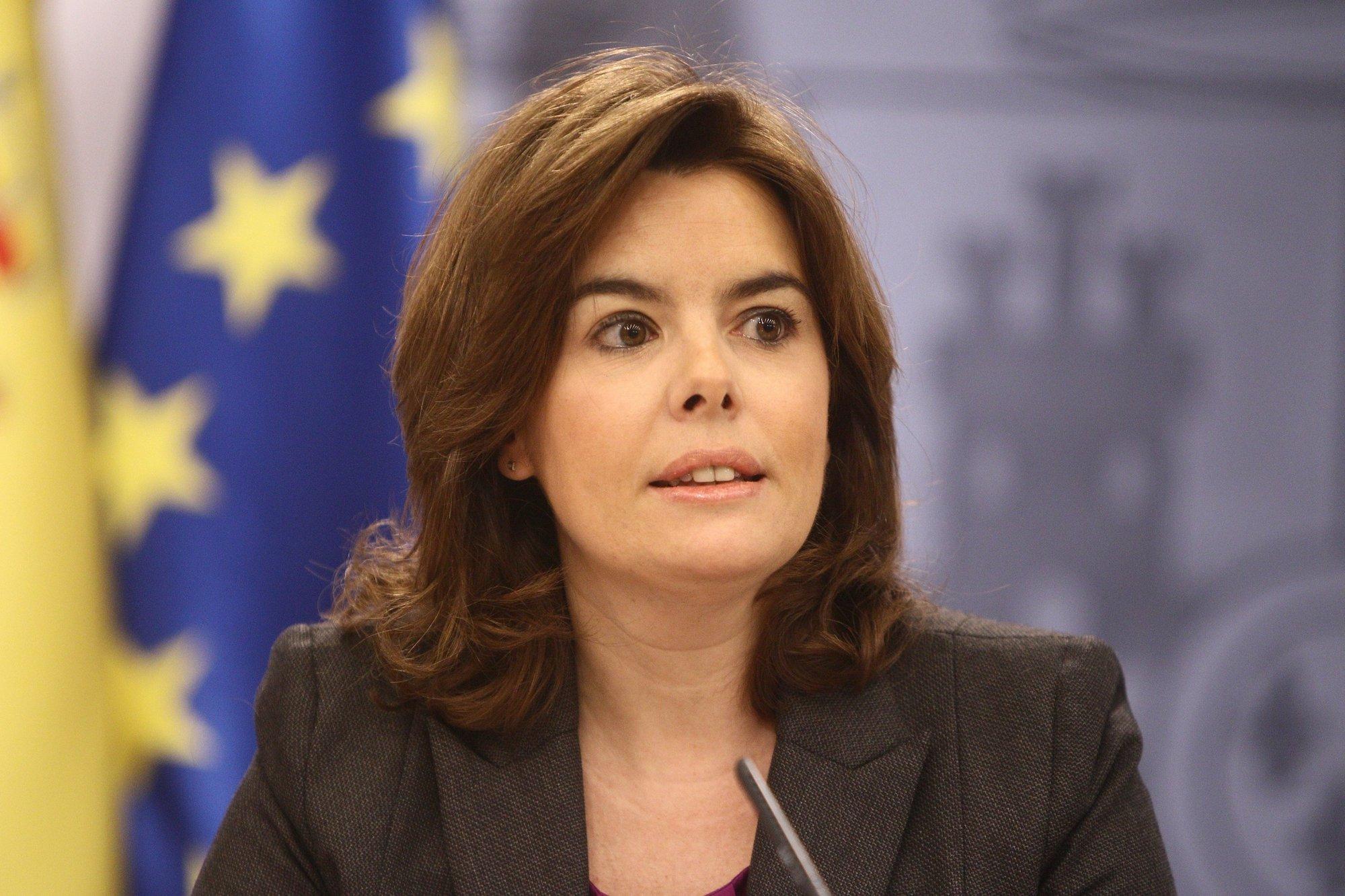 Sáenz de Santamaría dice que el Eurovegas debe respetar las normas españolas