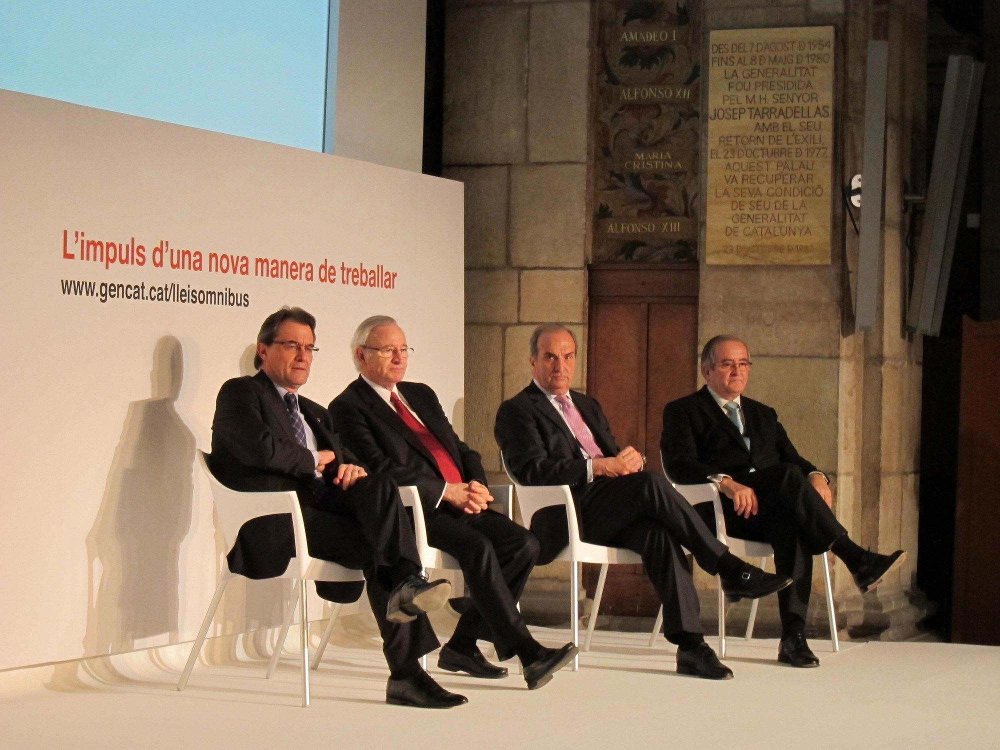 Mas defiende las reformas catalanas y estatales para ganar competitividad a largo plazo