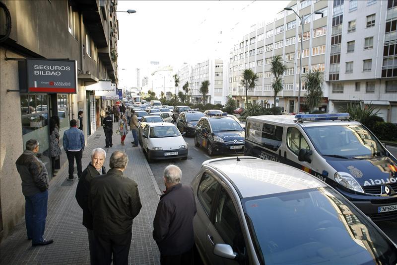 Un herido grave por arma de fuego en una disputa familiar en A Coruña