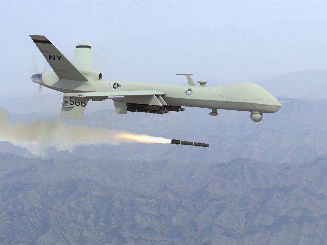Los drones de EEUU vigilan desde el aire los movimientos del Ejército sirio