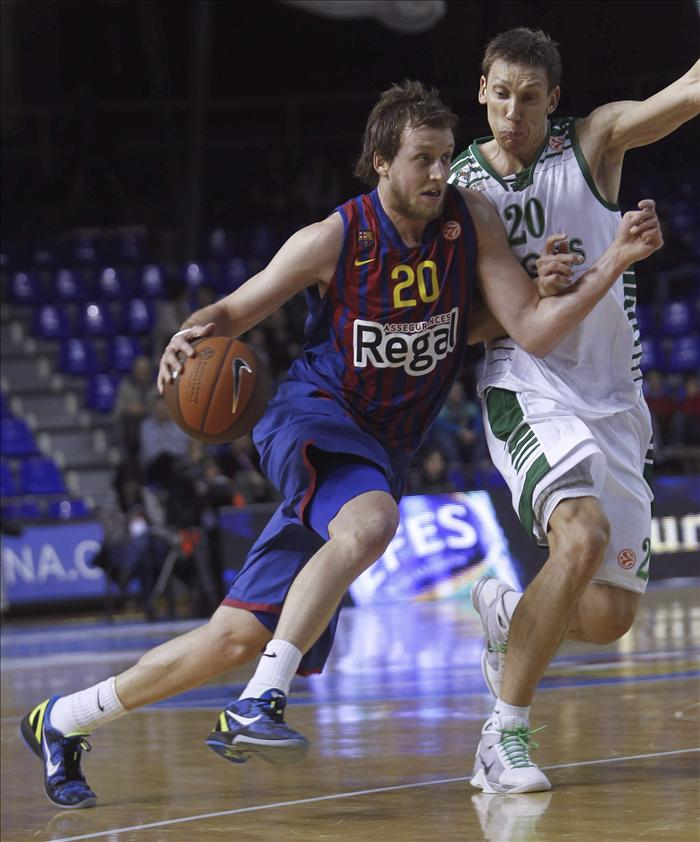El Barça da de alta a Ingles por Perovic para la Copa del Rey de baloncesto; Ribas duda hasta última hora