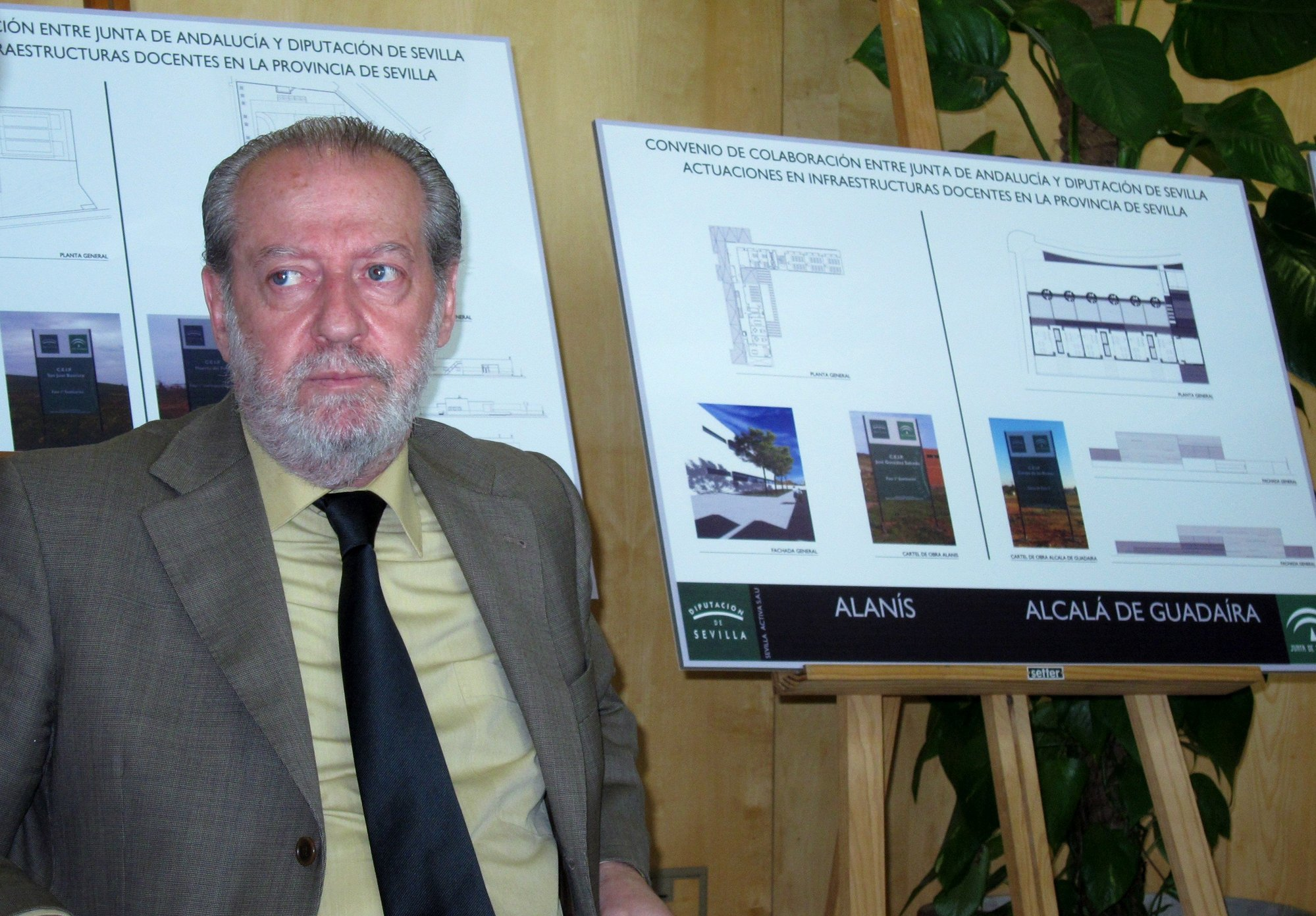 Diputación garantiza la inversión de 15 millones en obras en colegios, finalizadas en todos los casos para mayo