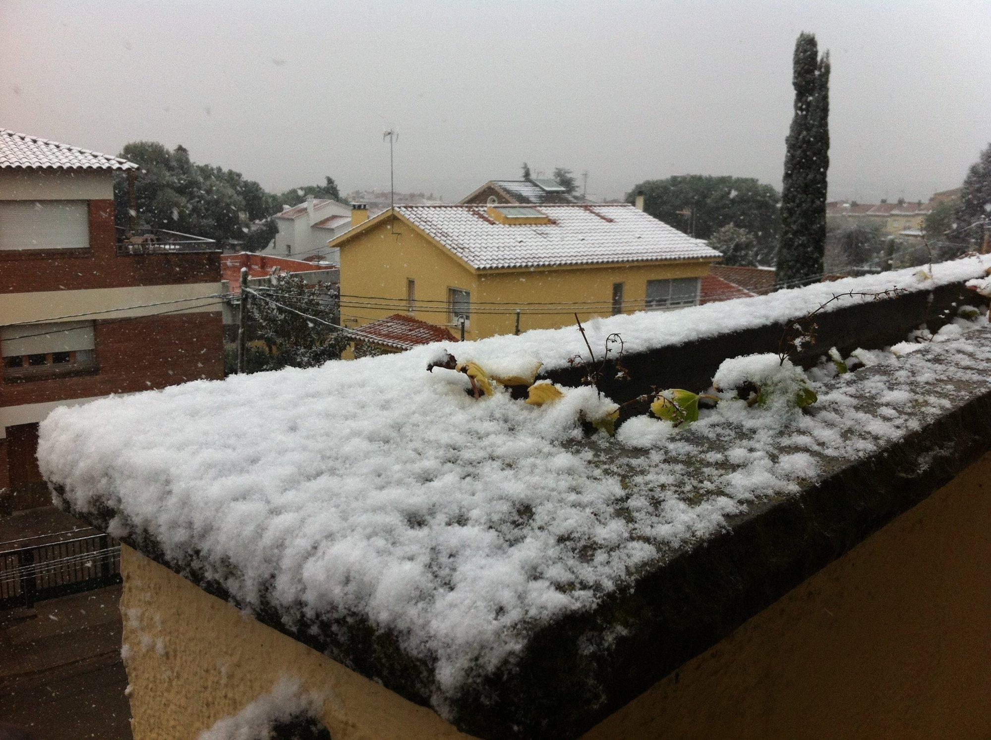 Gobierno vasco activa el aviso amarillo para este domingo por nevadas a partir de 500 metros y heladas
