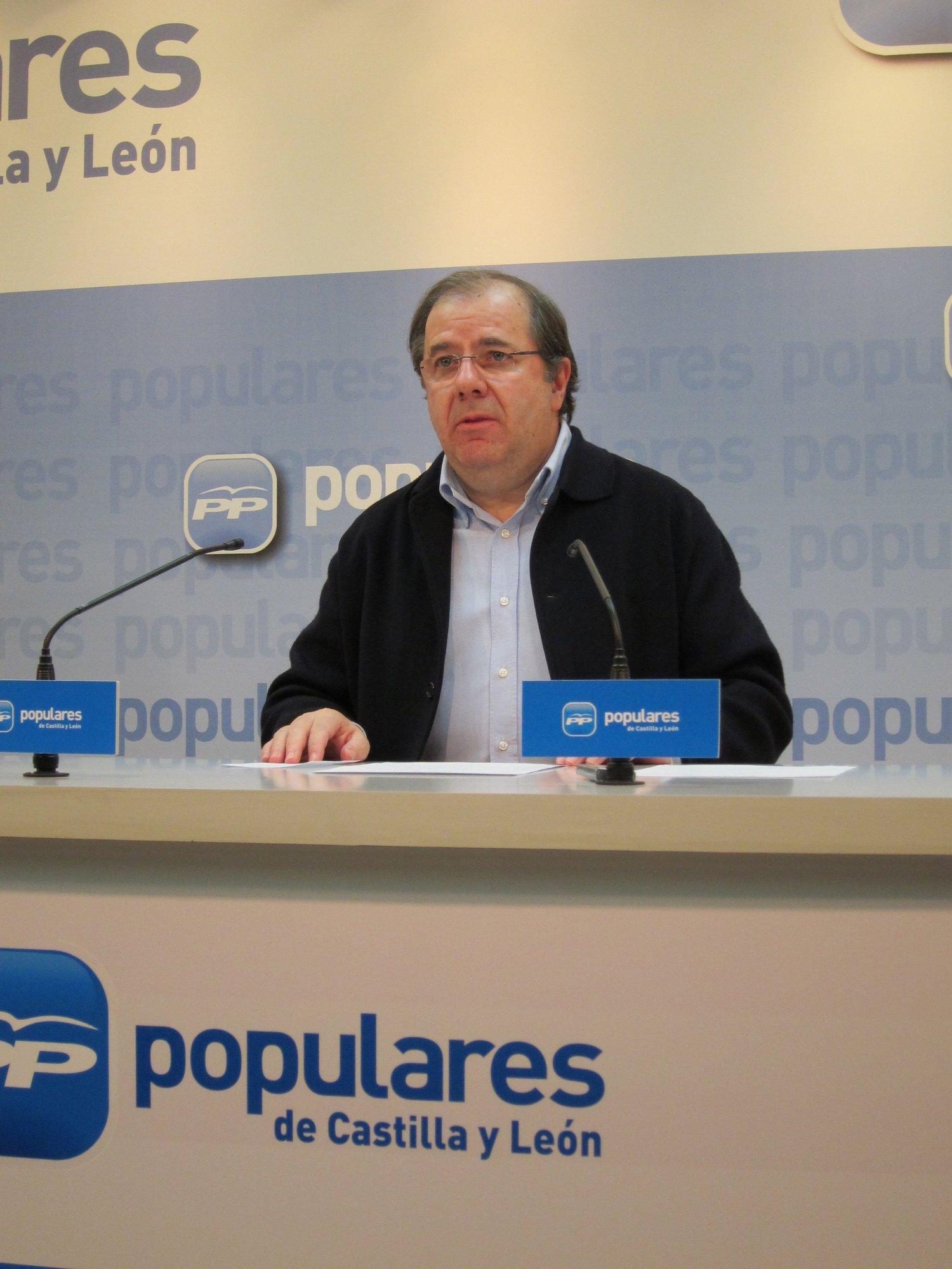 Herrera reivindica los valores del PP y su «compromiso» con el «autonomismo útil» y los servicios públicos