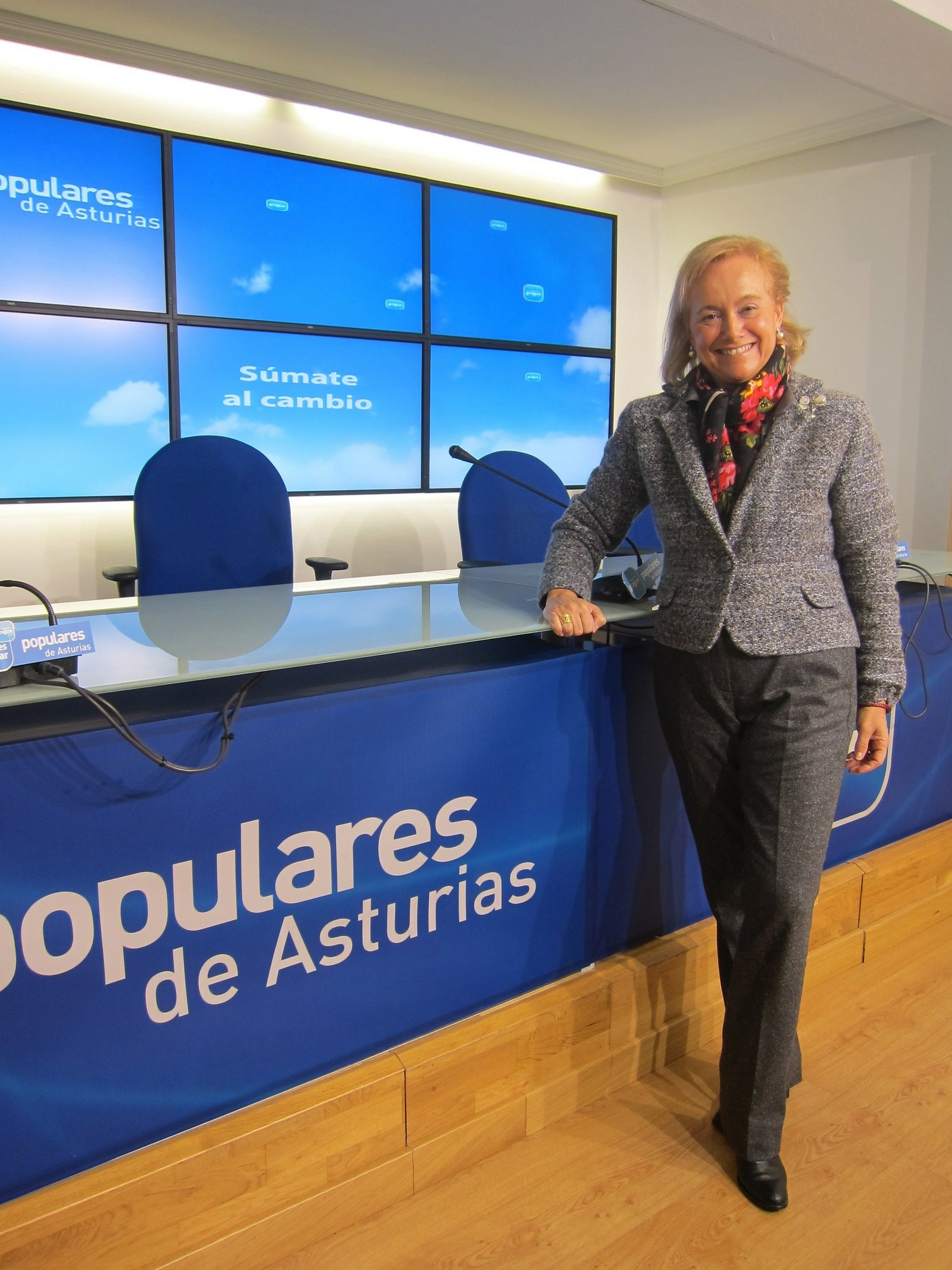 Mercedes Fernández (PP) garantiza un gobierno que desterrará la «resignación y pasividad»