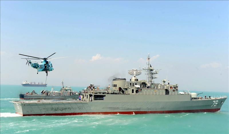 Los buques de guerra iraníes llegan a Siria para entrenar a la Armada del régimen