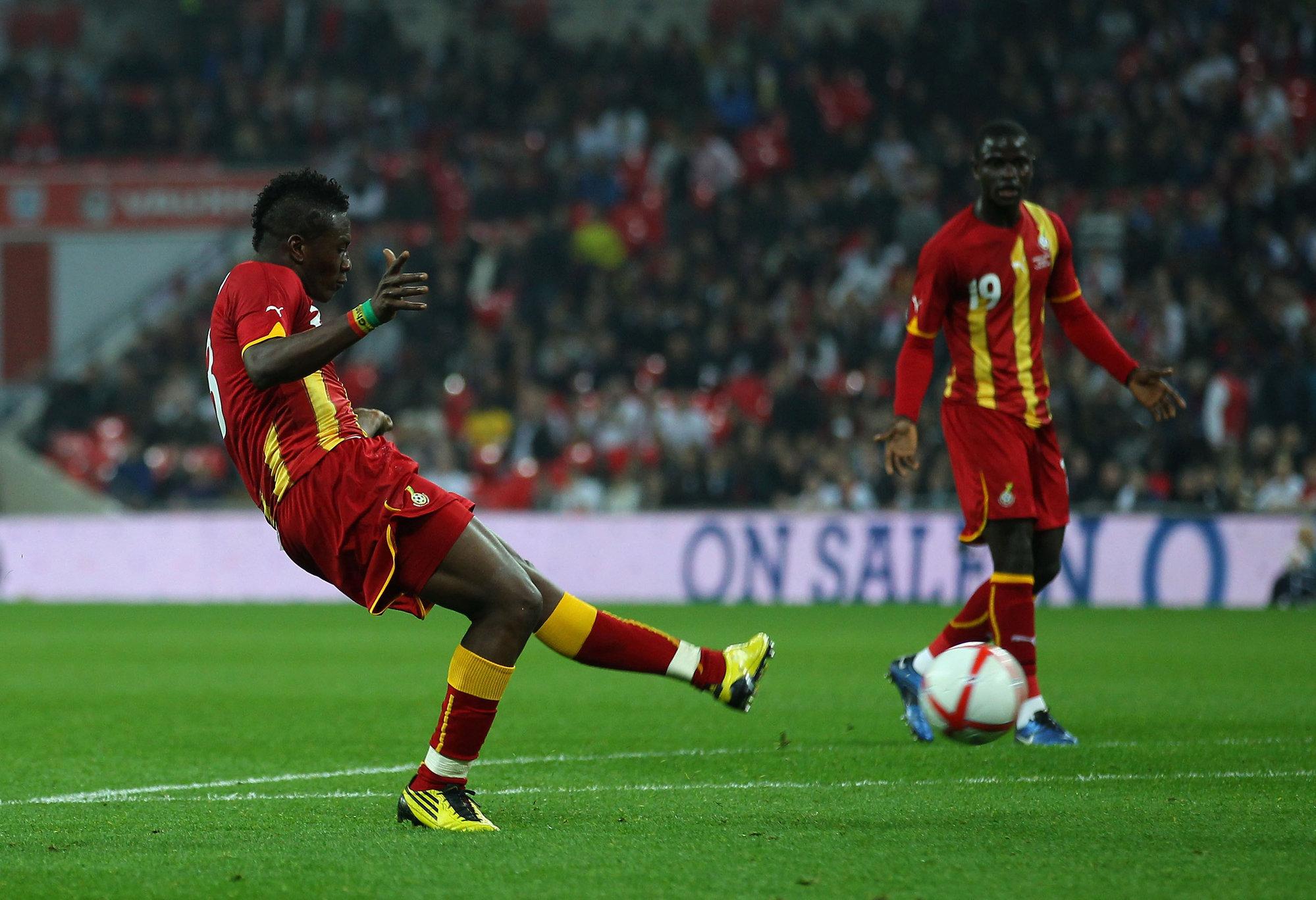 Gyan se plantea un descanso en su carrera por fallar dos penaltis