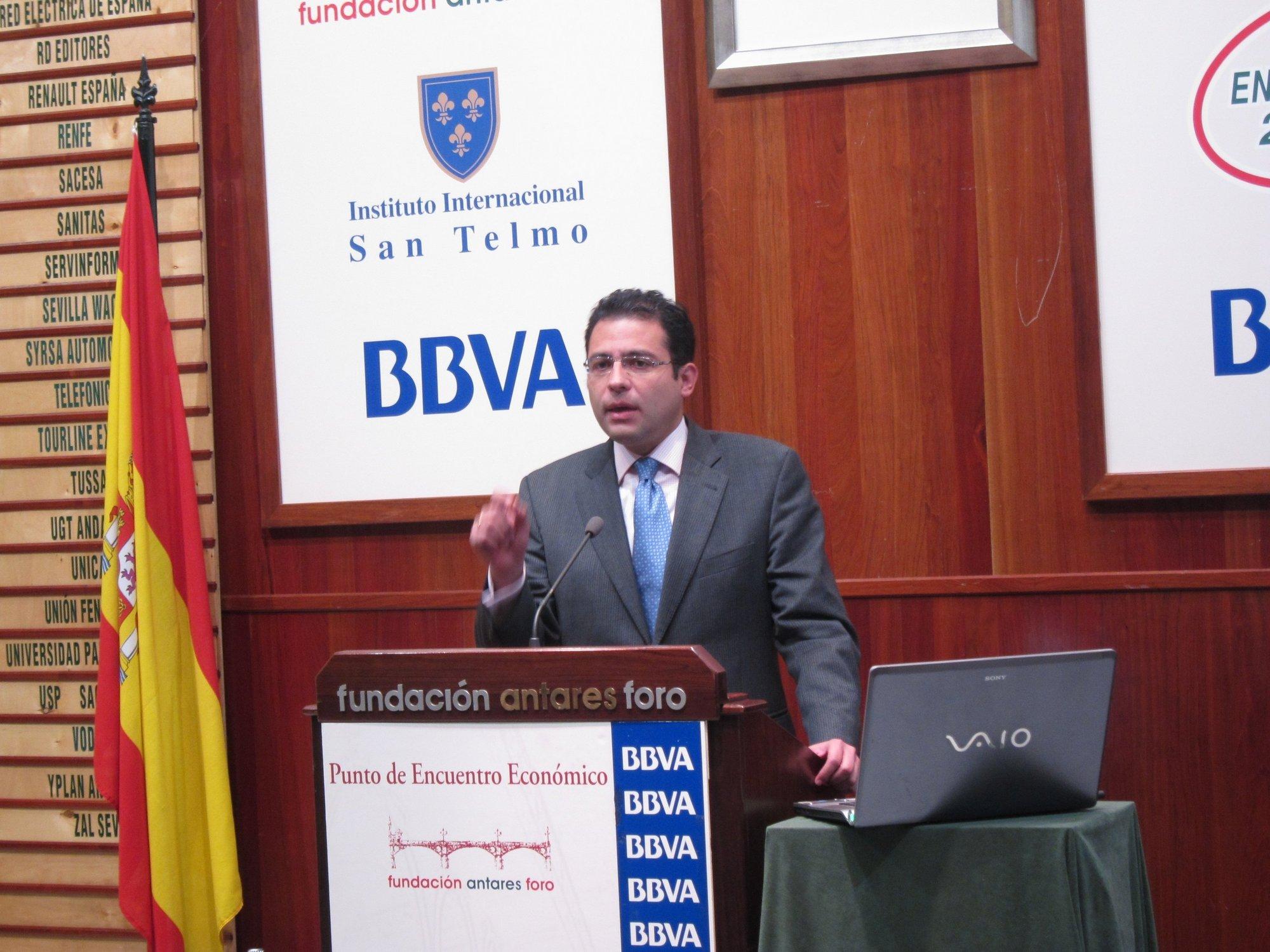 BBVA prevé una caída del 1,8% del PIB andaluz en 2012 mientras que para 2011 habría una subida del 0,1%