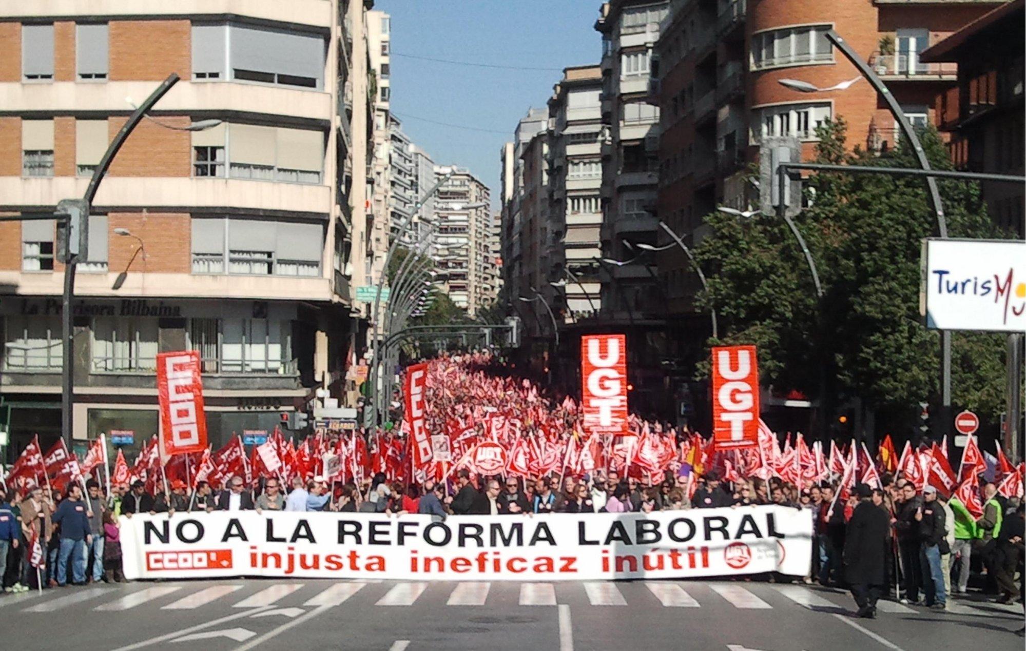 CCOO valora la fuerte contestación social ante Reforma Laboral y acuerda seguir trabajando en la extensión del rechazo