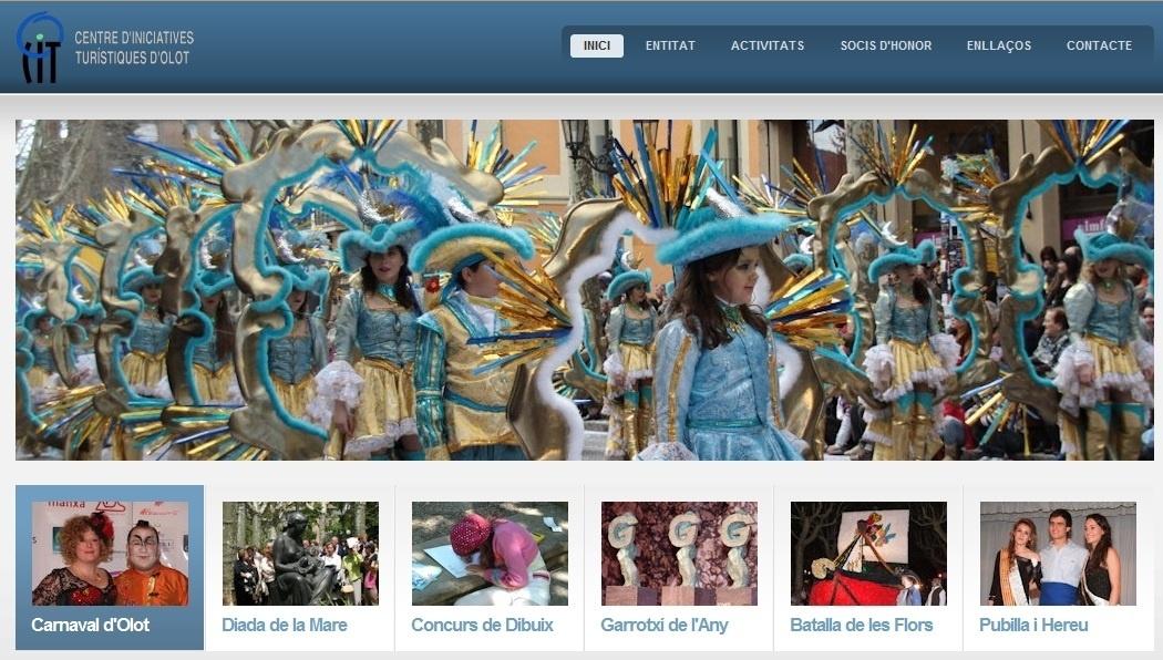 El Centro de Iniciativas Turísticas de Olot estrena página web